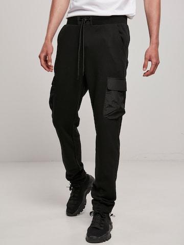 Urban Classics Cargo trousers 'Commuter' in Black