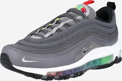 Nike Sportswear Sneakers laag 'Air Max 97' in de kleur Lichtgrijs / Donkergrijs / Rood / Zwart / Wit, Productweergave