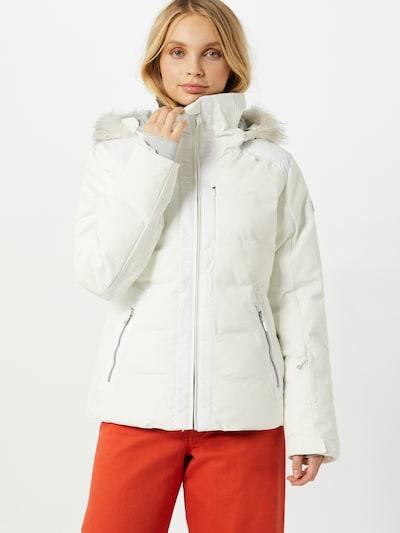 ROXY Sport-Jacke in weiß: Frontalansicht