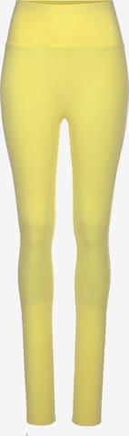 Leggings LASCANA en jaune