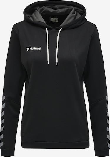 Hummel Sportief sweatshirt in de kleur Grijs / Zwart / Wit, Productweergave