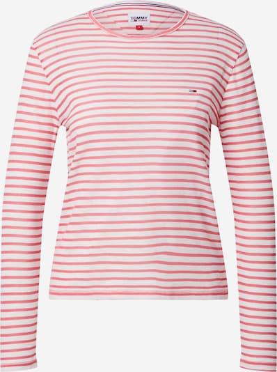 Tricou Tommy Jeans pe roz / alb, Vizualizare produs