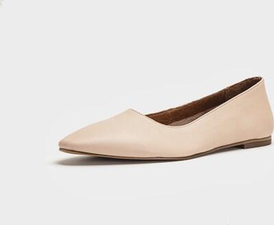 INUOVO Ballerinas in beige, Produktansicht