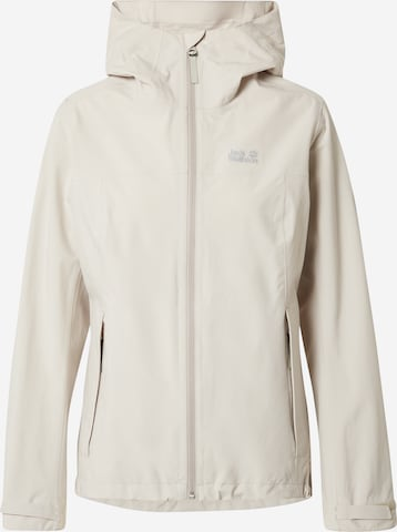 JACK WOLFSKIN Outdoor Jacket 'Shell' in Grey