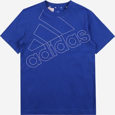 ADIDAS PERFORMANCE Sportshirt in blau / weiß, Produktansicht