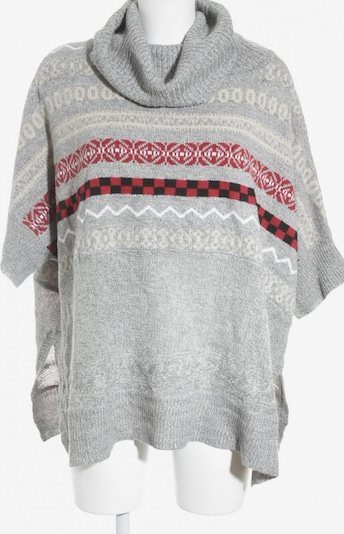 Romeo & Juliet Couture Sweater & Cardigan in M in Grey / Neon red / White, Item view
