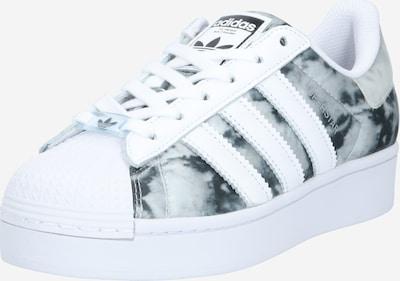 ADIDAS ORIGINALS Sneaker 'Superstar Bold' in grau / weiß: Frontalansicht
