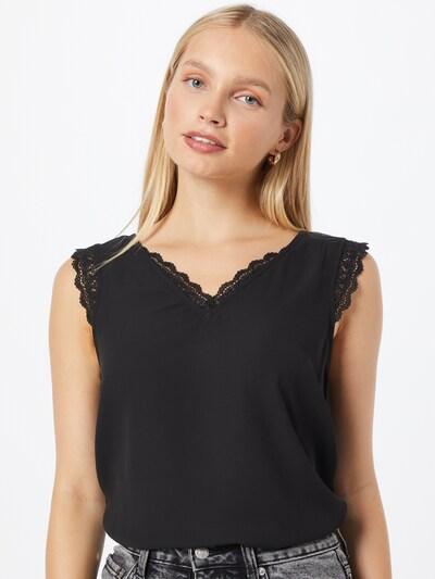 VERO MODA Bluse 'POEL' in schwarz, Modelansicht