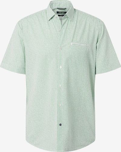 PIERRE CARDIN Hemd in hellgrün / weiß, Produktansicht