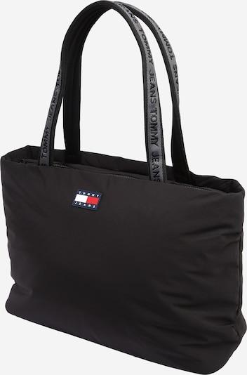 Tommy Jeans Shopper torba u crna / bijela, Pregled proizvoda