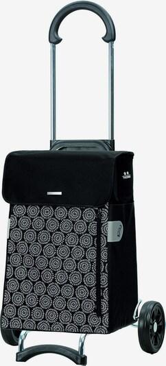 Andersen Shopper Einkaufstrolley 'Scala Shopper Muna' 48 cm in schwarz / weiß, Produktansicht