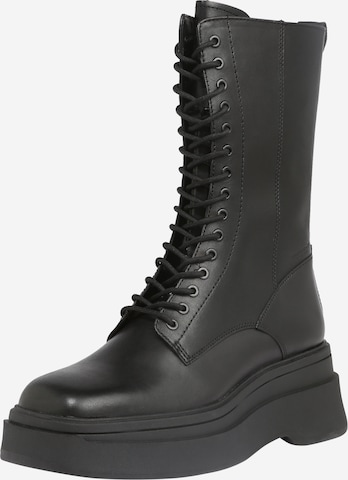 VAGABOND SHOEMAKERS Snørestøvler 'CARLA' i svart