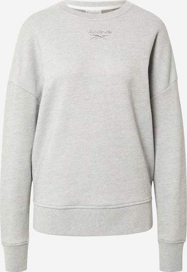 REEBOK Sportsweatshirt i grå-meleret, Produktvisning