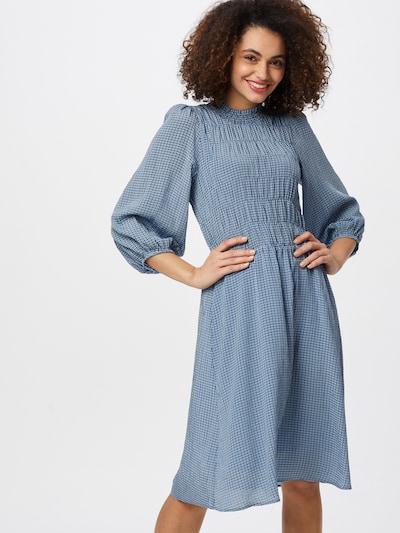 InWear Kleid 'JodiI' in rauchblau / schwarz, Modelansicht