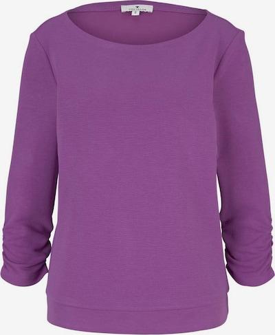 TOM TAILOR Sweatshirt in lila, Produktansicht