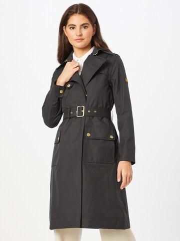 Manteau mi-saison Barbour International en noir