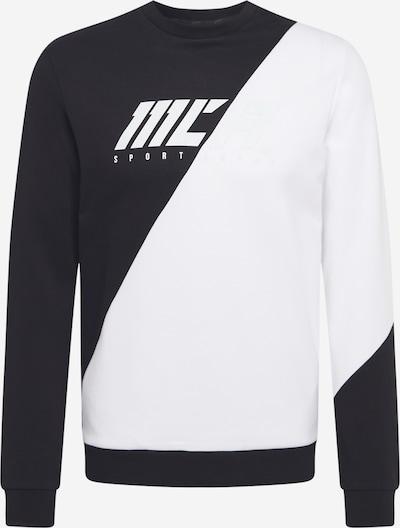 4F Sweatshirt in grau / schwarz / weiß, Produktansicht