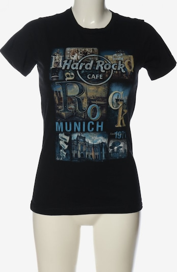 Hard Rock Cafe Top & Shirt in S in Cream / Blue / Black, Item view