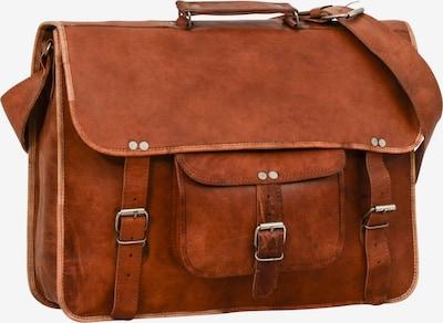 Gusti Leder Messenger Bag 'Gusti Leder Finlay 17' in braun, Produktansicht