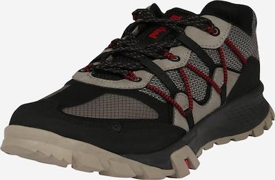 TIMBERLAND Športové šnurovacie topánky 'Garrison' - tmavošedá / červená / čierna, Produkt