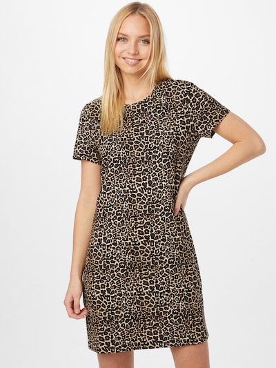 Rochie 'POPTRASH' ONLY pe bej / maro / negru, Vizualizare model