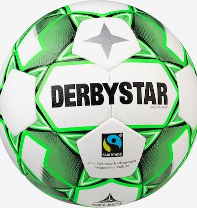 DERBYSTAR Ball in grün / schwarz / weiß, Produktansicht