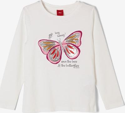 s.Oliver Shirt in creme / pink, Produktansicht
