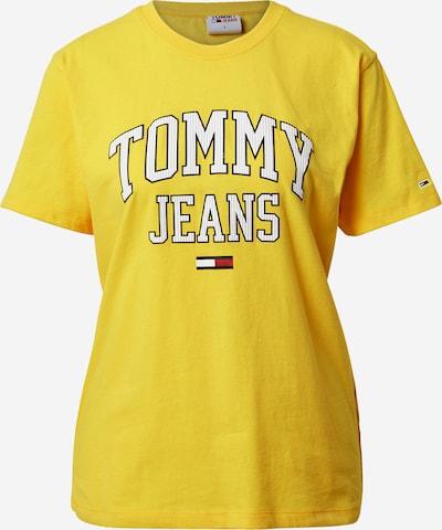 Tommy Jeans Shirt 'COLLEGIATE' in navy / gelb / rot / weiß, Produktansicht
