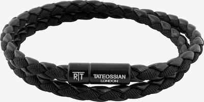 Tateossian London Armband 'Chelsea' in schwarz / weiß, Produktansicht