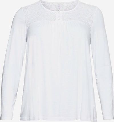 Tricou SHEEGO pe alb, Vizualizare produs