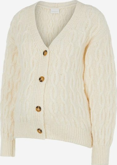 MAMALICIOUS Strickjacke in creme, Produktansicht