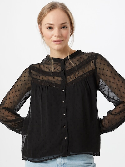 ABOUT YOU Blouse 'Fenna' in Black, View model