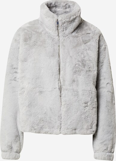 NEW LOOK Jacke 'THEO FUNNEL NECK FUR' in grau / hellgrau, Produktansicht