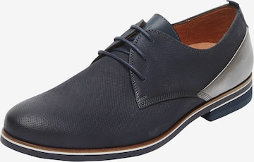 Chaussure à lacets Van Lier en bleu