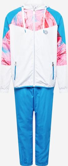 BIDI BADU Sportanzug 'Kafil Tech' in royalblau / rosa / melone / weiß, Produktansicht