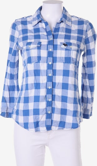 Abercrombie & Fitch Bluse in S in blau, Produktansicht