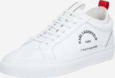 Karl Lagerfeld Sneakers laag 'KUPSOLE' in de kleur Rood gemêleerd / Zwart / Wit, Productweergave