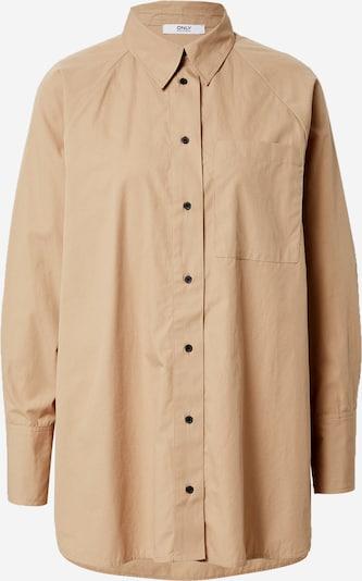 Camicia da donna 'Selma' ONLY di colore camello, Visualizzazione prodotti