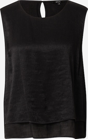 OPUS Blus 'Fips' i svart, Produktvy