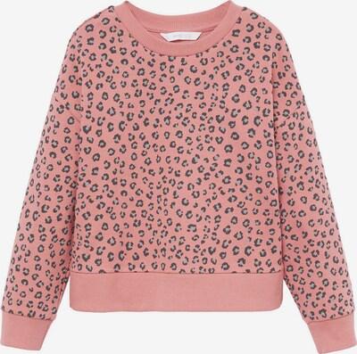 MANGO KIDS Sweat-shirt 'ALEXIS' en gris clair / rosé / noir, Vue avec produit