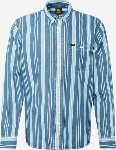 Lee Chemise en bleu denim / bleu clair / blanc, Vue avec produit