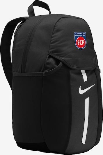NIKE Rucksack in blau / rot / schwarz / weiß, Produktansicht