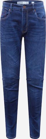 INDICODE Teksapüksid 'Nohvas', värv sinine