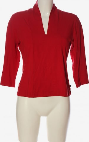 AUST Langarm-Bluse in L in Rot