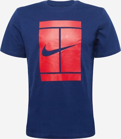 Tricou funcțional NIKE pe albastru închis / roșu, Vizualizare produs