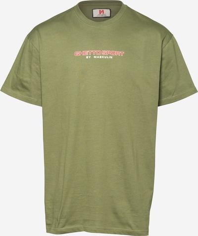Maglietta 'AK47' MASKULIN di colore oliva / rosso / bianco, Visualizzazione prodotti