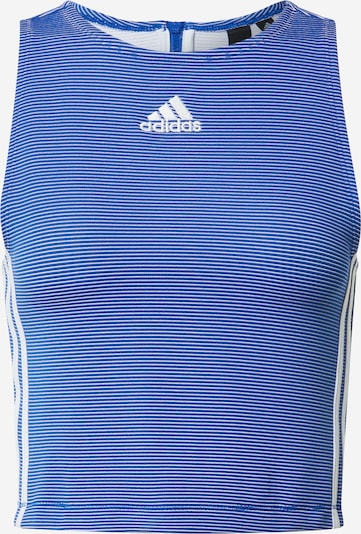 ADIDAS PERFORMANCE Top in blau / weiß, Produktansicht