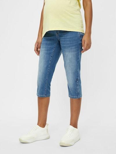 Jeans 'Pixie' MAMALICIOUS pe albastru denim / gri amestecat, Vizualizare model