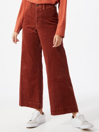 GAP Pantalon à plis en cuivre, Vue avec modèle