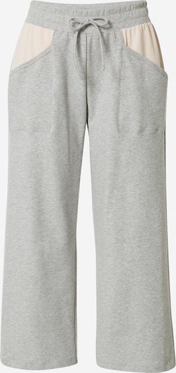 CALIDA Pantalon de pyjama en beige / gris chiné, Vue avec produit